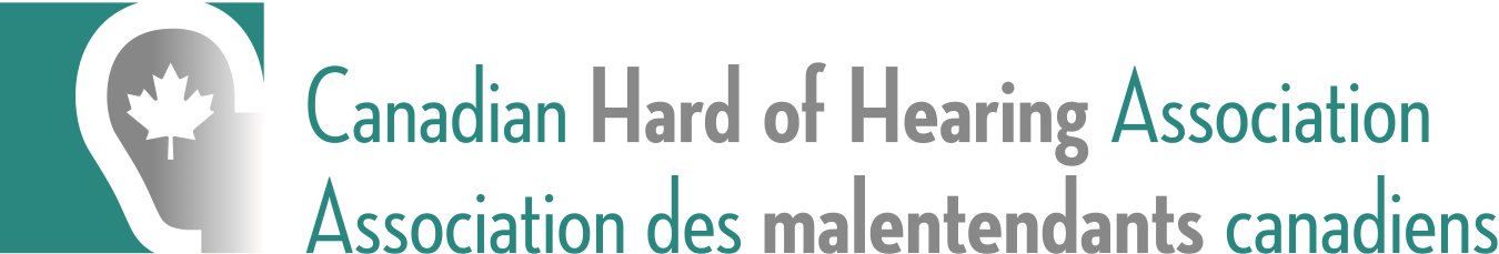 Canadian Hard of Hearing Association logo